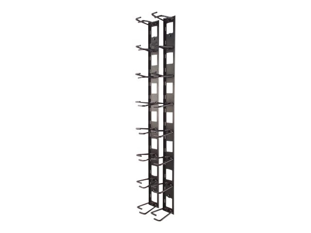 APC Vertical Cable Organizer for NetShelter VX Channel, AR8442, 5114517, Rack Cable Management