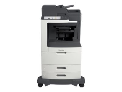 Lexmark MX811de Monochrome Laser Multifunction Printer - HV w  CAC Enablement (TAA Compliant)