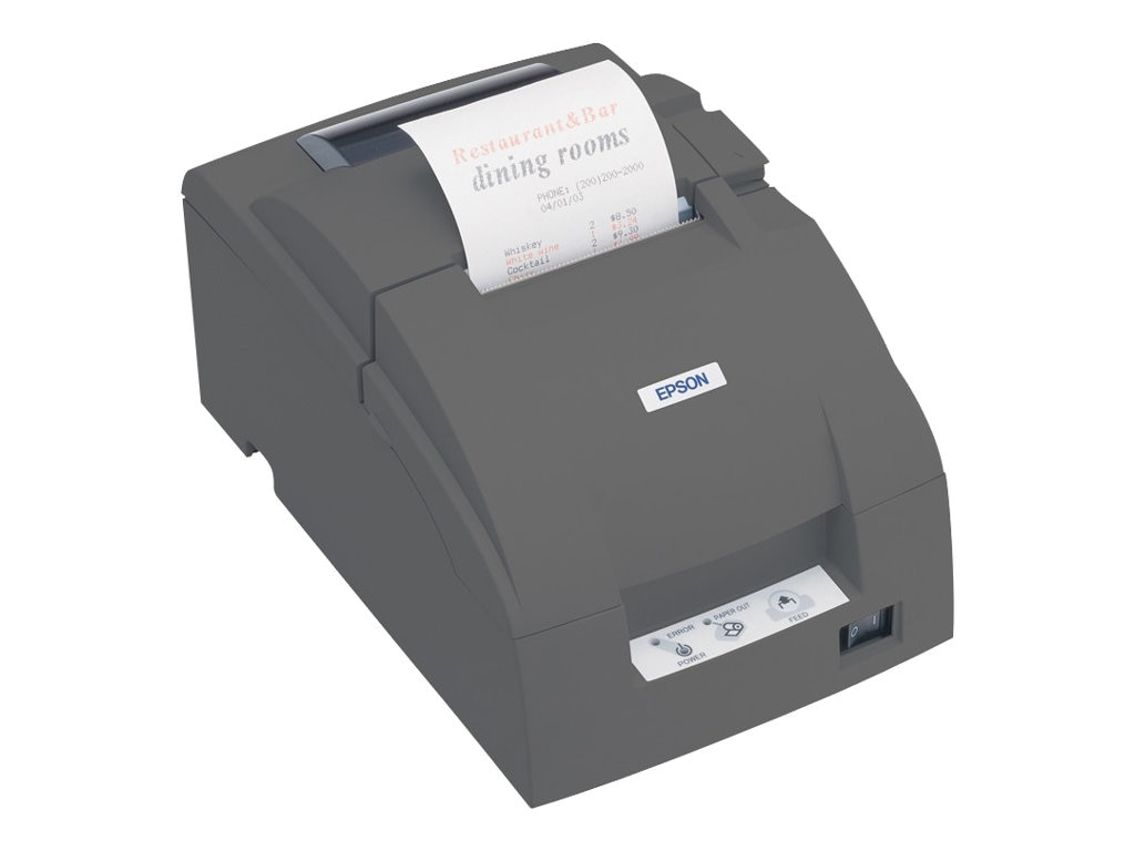Epson TM-U220B Receipt Printer w  Auto Cutter (Wall Mountable), C31C514653