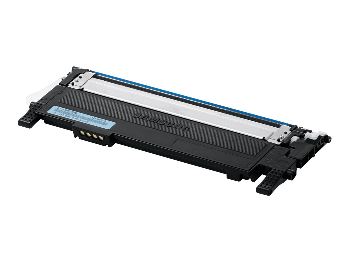 Samsung Cyan Toner Cartridge for CLP-365W Color Laser Printer & CLX-3305FW Color Multifunction Printer, CLT-C406S