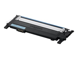 Samsung Cyan Toner Cartridge for CLP-365W Color Laser Printer & CLX-3305FW Color Multifunction Printer, CLT-C406S, 14481001, Toner and Imaging Components