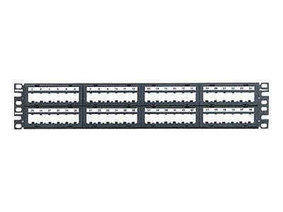 Panduit 48-Port Blank Patch Panel, 2U, CPPL48M6BLY