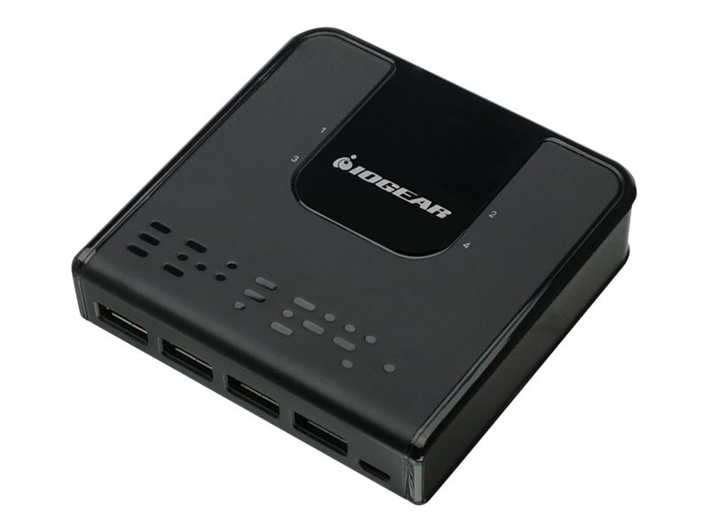 IOGEAR 4x4 USB 3.0 Sharing Switch, GUS434