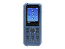 Zcover Silicone Case w Metal Clip, Blue, Dock-in-case for Cisco 8821 8821-EX, CI821HJL, 33175683, VoIP Accessories