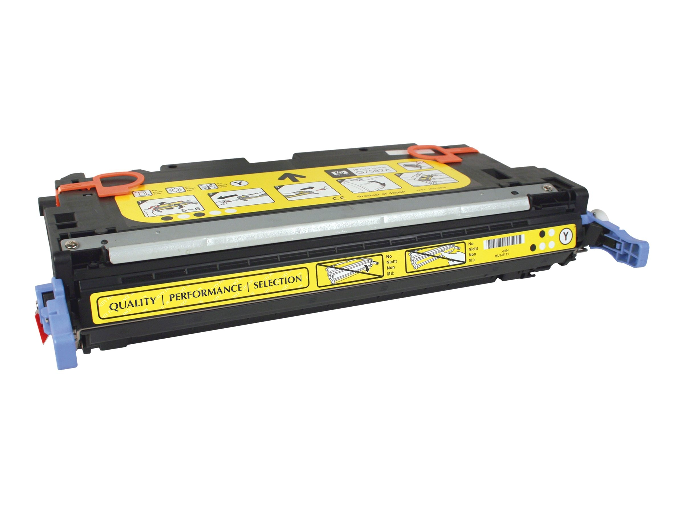 V7 Q7562A Yellow Toner Cartridge for HP Color LaserJet 3000