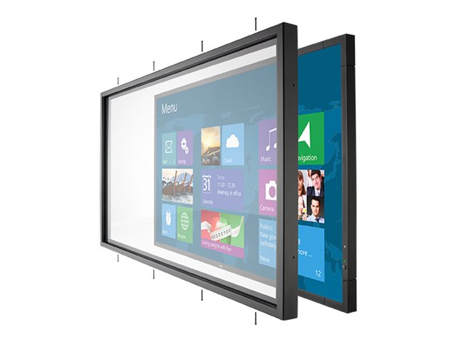 NEC 10-Point Touch Tempered Glass Overlay for E705, OL-E705, 18462879, Digital Signage Systems & Modules