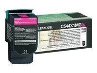 Lexmark Magenta Extra High Yield Return Program Toner Cartridge for C544 Series Printers & X544 Series MFPs