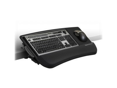 Fellowes Tilt N Slide Keyboard Manager Mount, 8060101, 15564669, Ergonomic Products