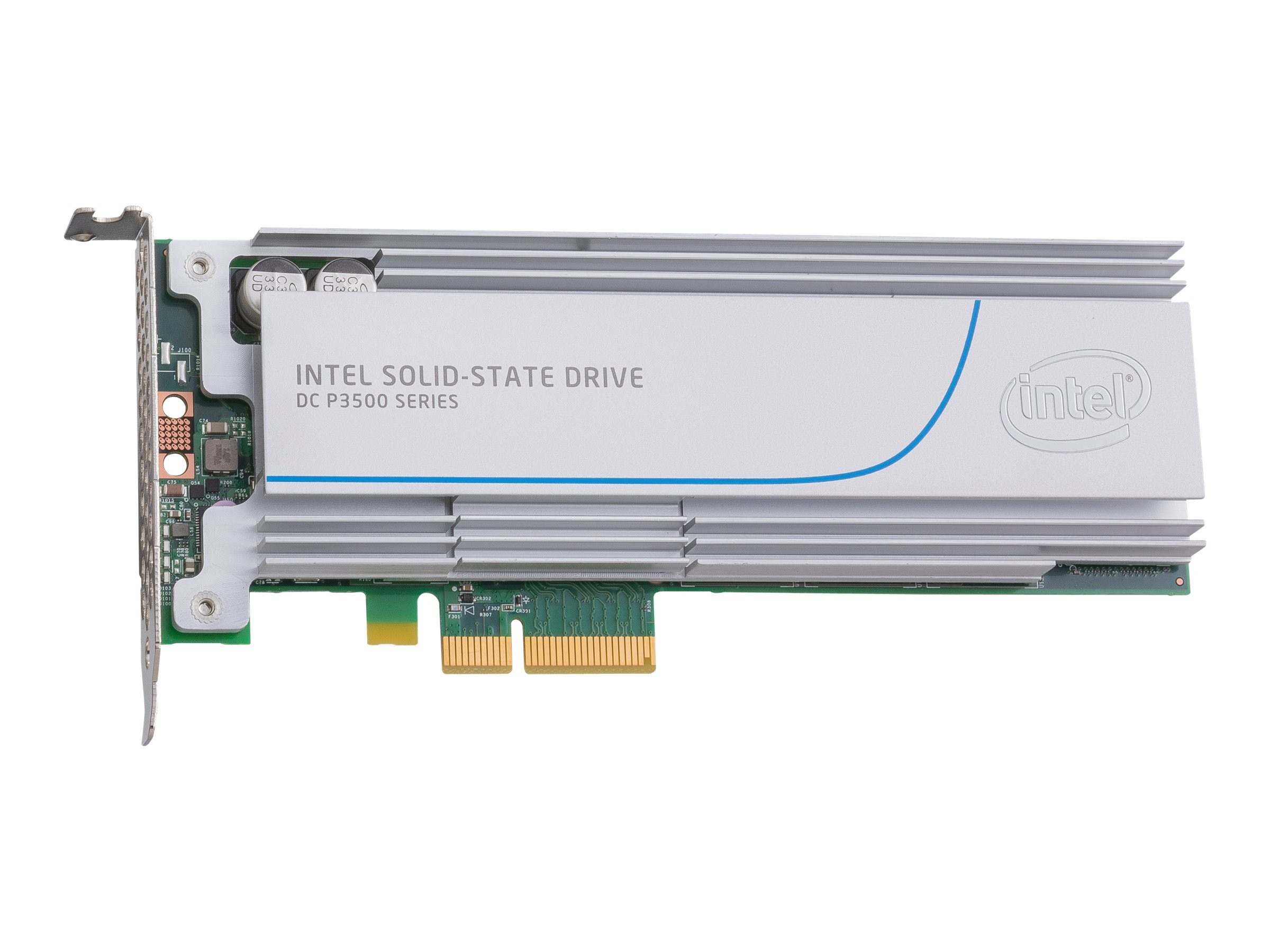 Intel 400GB DC P3500 Series Half Height Solid State Drive, SSDPEDMX400G410, 20137856, Solid State Drives - Internal