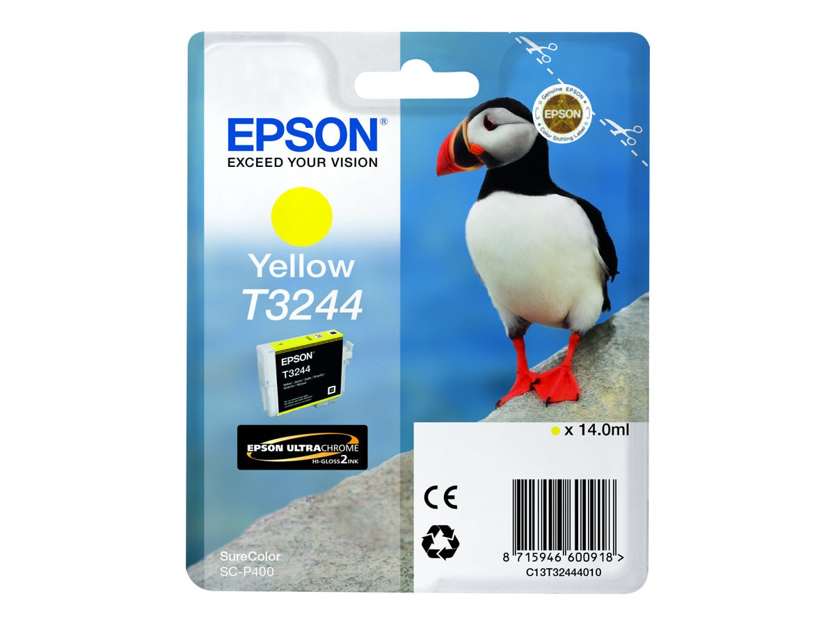 Epson 324 Yellow Ink Cartridge, T324420
