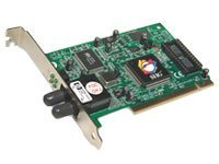 Siig 32-bit PCI Fast Ethernet 100BaseFX LAN Adapter, ST Multimode, FE-PXST11, 190580, Network Adapters & NICs