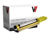 V7 V7 Cyan Toner Cartridge for Dell 3010CN, V7D3010Y, 11066929, Toner and Imaging Components