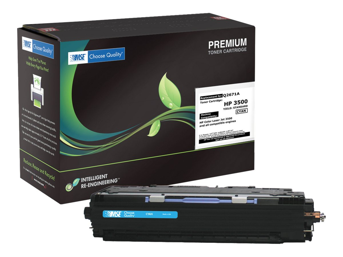 Q2671A Cyan Toner Cartridge for HP 3500