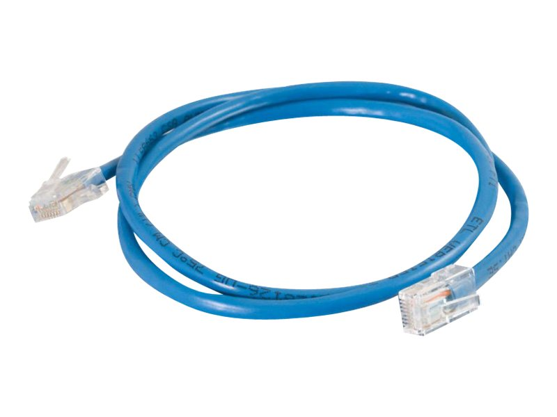 C2G Cat5e 350MHz Crossover Cable, Blue, 7ft, 24506, 5745239, Cables
