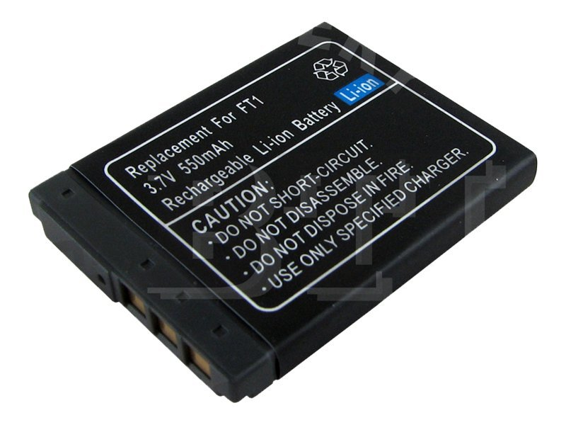 BTI Battery, Lithium-Ion, 3.7 Volts, 550mAh, for Sony, BTI-SY-IT, 8443332, Batteries - Camera