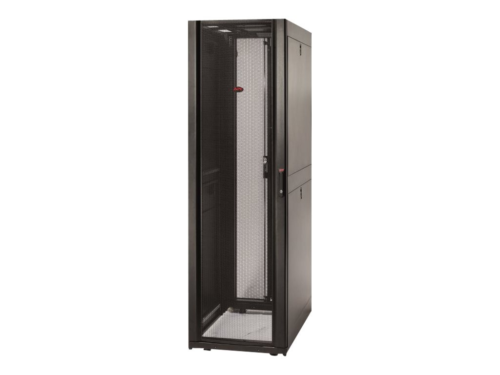 APC NetShelter SX 42U Enclosure, 600mm Wide x 1070mm Deep, Sides, Black, AR3100, 6325906, Racks & Cabinets