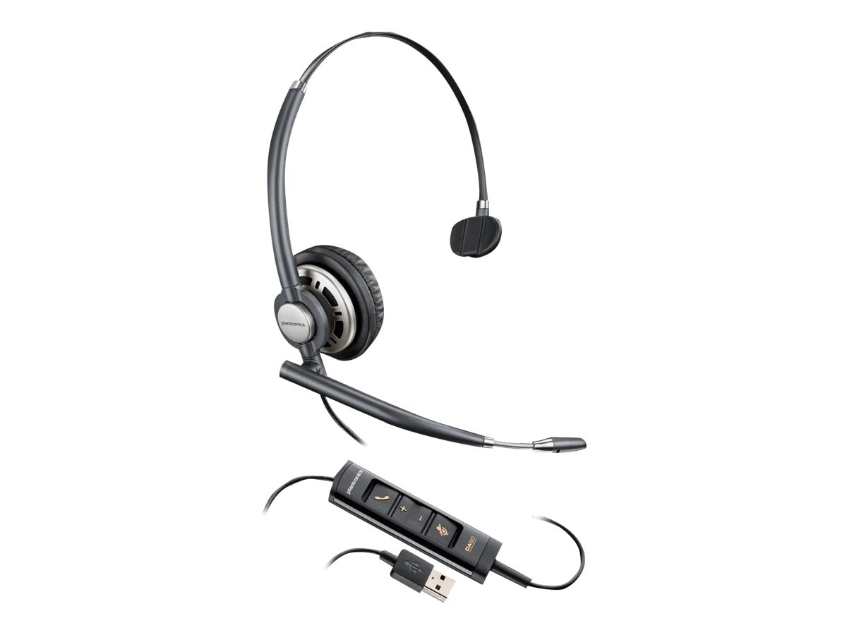 Plantronics HW715 USB Headset, 203476-01