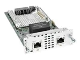 Cisco 2-Port Multi-Flex Trunk Voice Clear-Channel Data T1 E1 Module, NIM-2MFT-T1/E1=, 31770243, Network Device Modules & Accessories