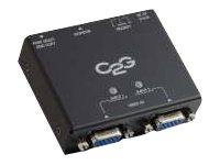 C2G 2-Port VGA Auto Switch, 39900, 16968323, Switch Boxes - AV