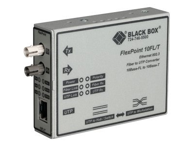 Black Box Flexpoint 10BFL Upconverter (MM ST), LMC212A-MM-R3, 13172573, Network Transceivers