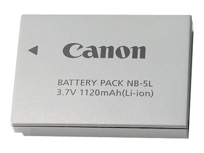 Canon NB-5L Battery Pack, 1135B001