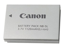 Canon NB-5L Battery Pack, 1135B001, 6801706, Batteries - Camera