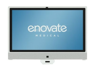 Enovate R6 AIO Core i5-3210M 2.5GHz 8GB 320GB abgn 21.5 FHD Touch NoOS, White