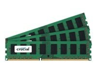 Crucial 12GB PC3-12800 240-pin DDR3 SDRAM DIMM Kit, CT3KIT51264BA160B, 14599190, Memory