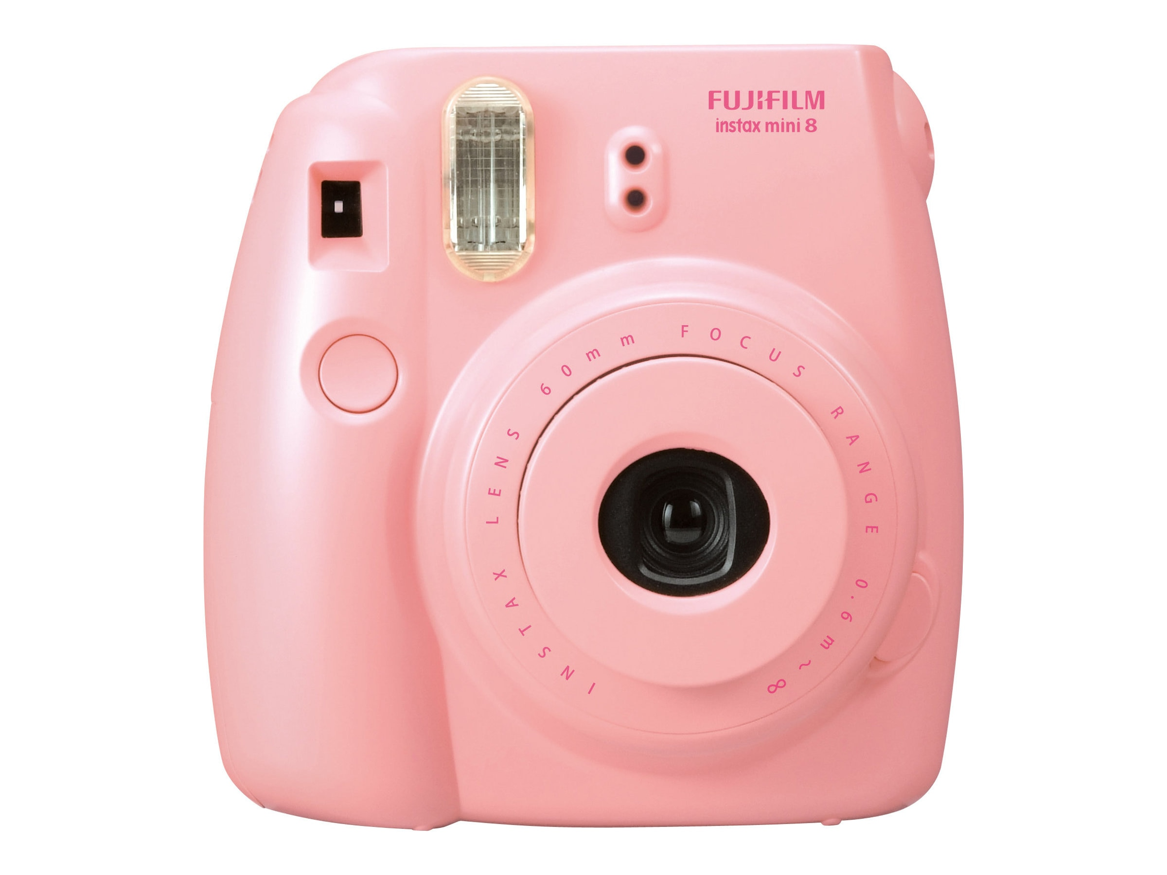 Fujifilm Instax Mini 8 Camera, Pink, 16273415, 15682180, Cameras - Film