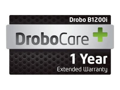 1-year 24x7 Digital DroboCare Support w Next Business Day Advanced Replacement for B1200I, DR-B1200I-1S11