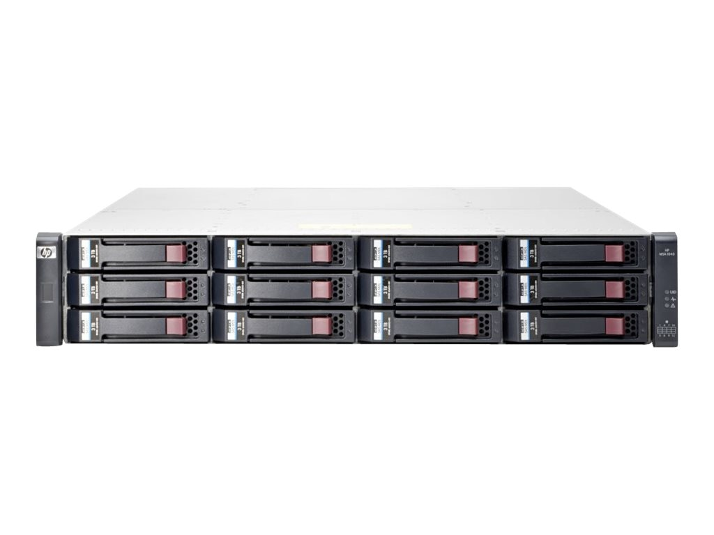 HPE MSA 1040 2-Port 1Gb iSCSI DC LFF Storage (Smart Buy), E7W01SB, 17063041, Fibre Channel & SAN Switches