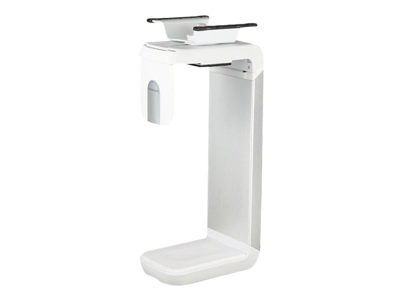 Humanscale CPU Holder, White Brushed Aluminum Finished, CPU200W