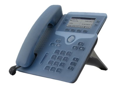 Zcover SI Desk PH Base Handset Cover Unified IP Phone 7841G BLUE