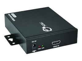 Siig HDMI Over Gigabit IP Extender Kit with IR, CE-H22811-S1, 17600408, Network Transceivers