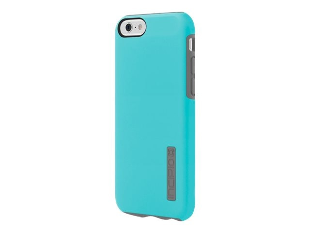 Incipio DualPro Hard Shell Case w  Impact-Absorbing Core for iPhone 6 6s, Light Blue Cool Gray