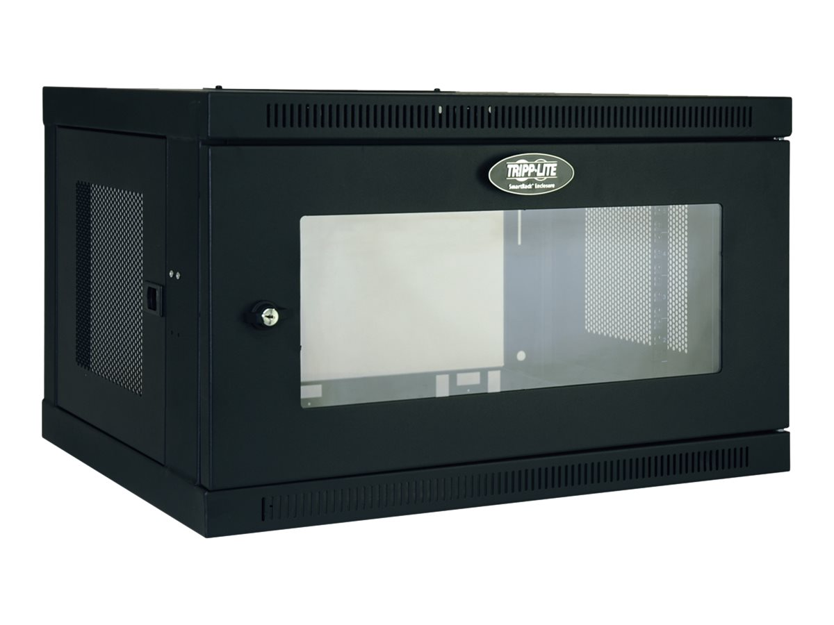 Tripp Lite SmartRack 6U Wall-Mount Standard-Depth Rack Enclosure Cabinet, Instant Rebate - Save $10