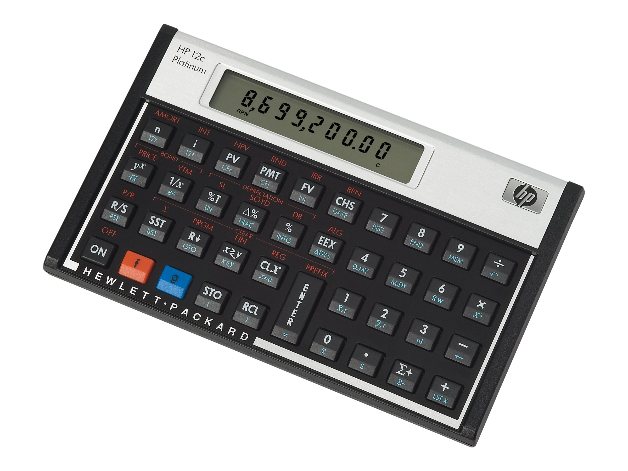 HP HP 12C Platinum Financial Calculator, F2231AA#ABA, 7320357, Calculators