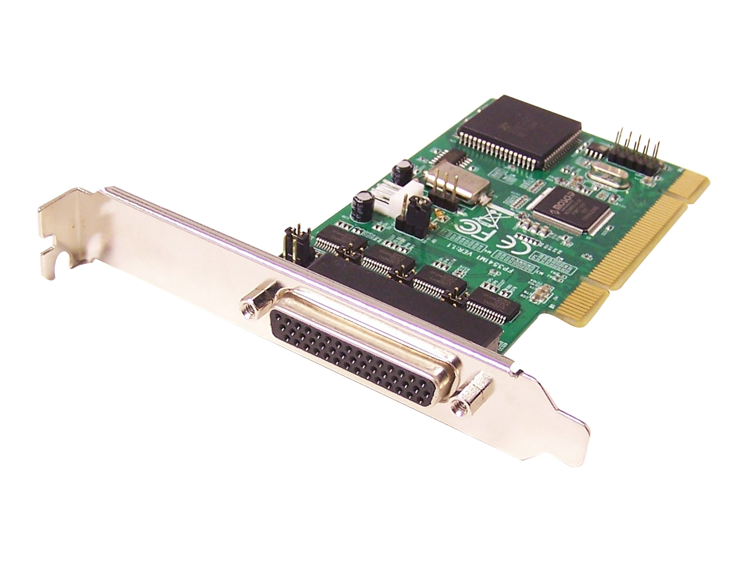 Siig 4-port Industrial RS-232 Unversal PCI Adapter Card w  Power