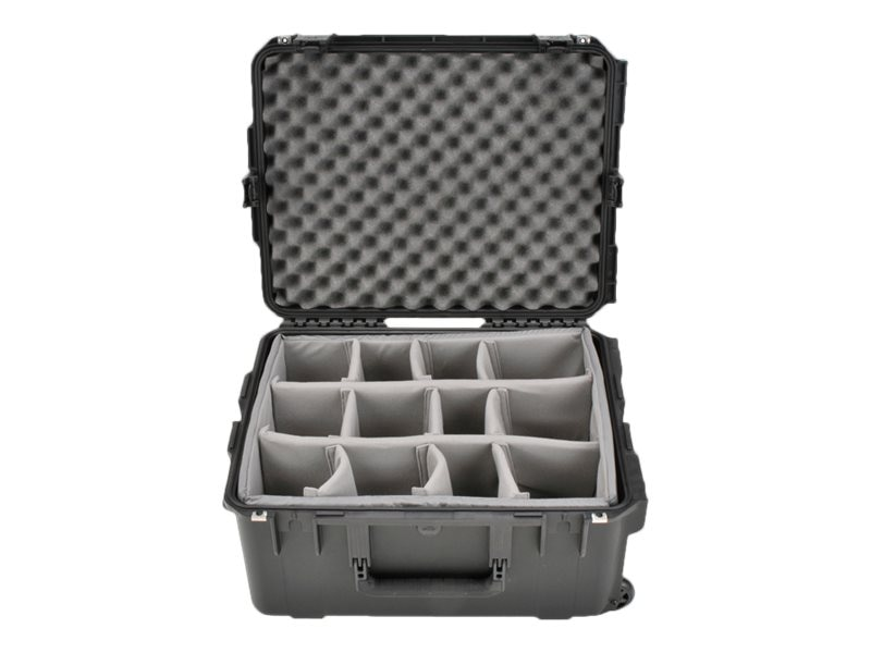 Samsonite Mil Std IM Case 22 x 17 x 10 Padded Dividers Wheels, 3I-2217-10BD