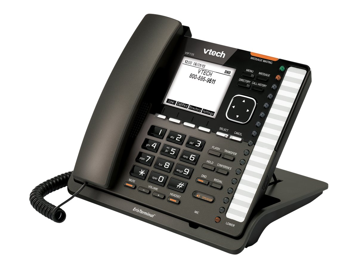 Vtech Eris Terminal SIP End Point Feature Phone, VSP735, 17395096, Telephones - Consumer