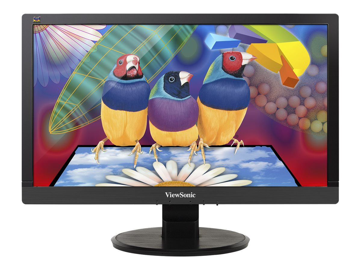 ViewSonic 20 VA2055Sm Full HD LED Multimedia Display, Black