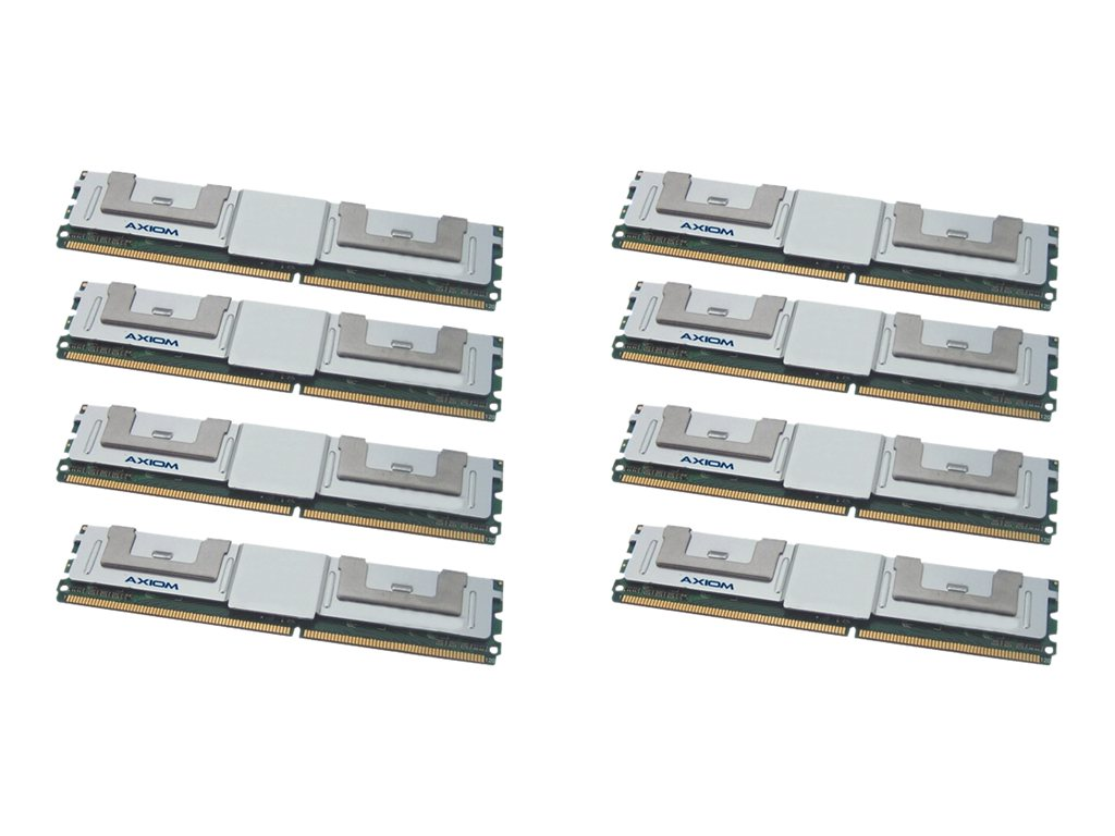 Axiom 64GB PC2-5300 240-pin DDR2 SDRAM DIMM Kit, TAA, AXG17991800/8, 15150950, Memory