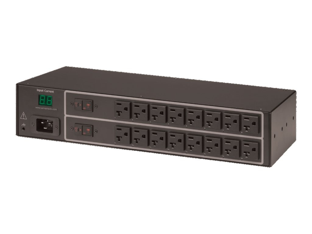 Server Technology Switched CDU, PIPS, 2U, (16) NEMA 5-20R Outlets