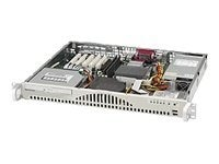 Supermicro Chassis SC512F-260, 1U Mini, PD, ATX, 1x3.5, CD, USB, 260W, Beige, CSE-512F-260, 6574259, Cases - Systems/Servers