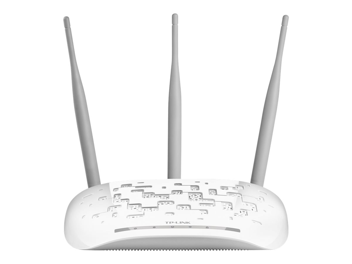 TP-LINK Wireless N300 Access Point, 2.4Ghz, 802.11b g n, AP Client Bridge Repeater, 3x 5dBi, Passive POE, TL-WA901ND