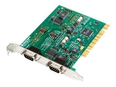 Quatech 2-port Optically Isolated Midport Universal PCI Card, 3PCIOU2, 13330658, Network Adapters & NICs