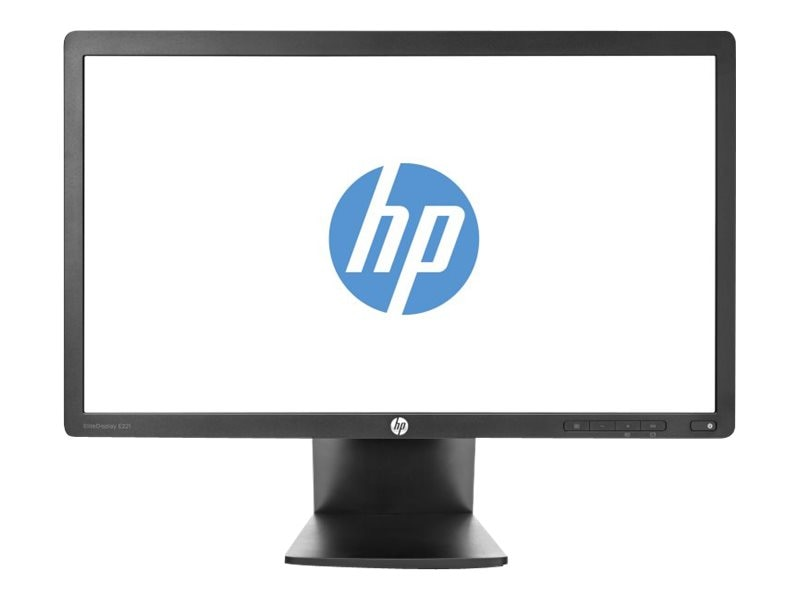 HP 22 EliteDisplay E221 Full HD LED-LCD Monitor, Black, C9V76AA#ABA, 15572837, Monitors - LED-LCD