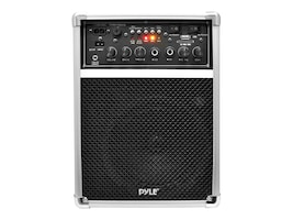 Pyle Dual Channel 400 Watt Wireless PA System W USB SD MP3, 2 VHF Wireless Microphones (1 Lavalier, 1 Han, PWMA170, 17235826, Music Hardware