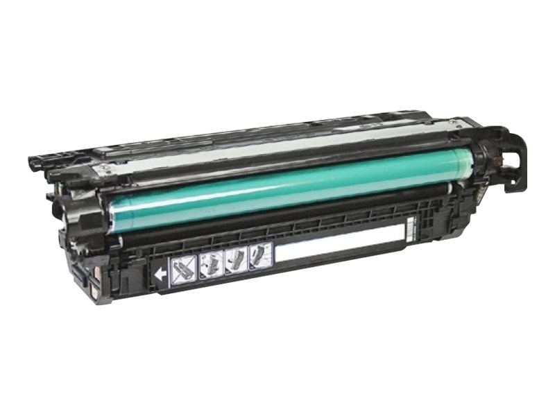Ereplacements CE260A Black Toner Cartridge for HP Color LaserJet CP4025 & CP4525 Series, CE260A-ER, 18373729, Toner and Imaging Components