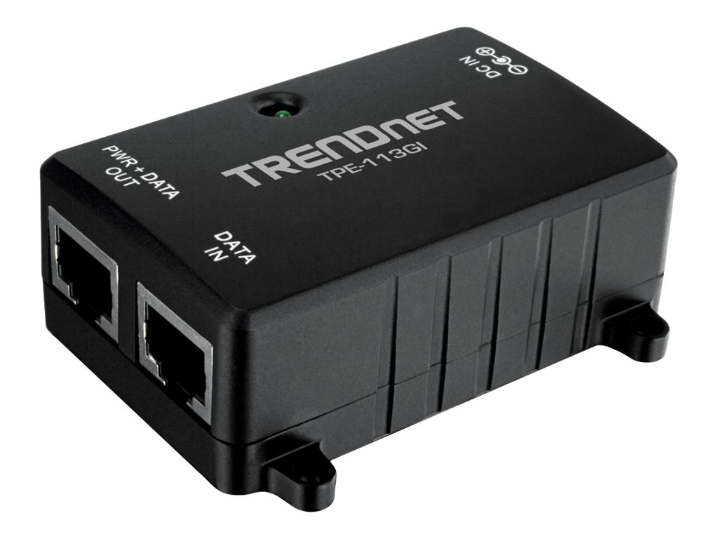 TRENDnet Gig Power over Ethernet Injector, TPE-113GI
